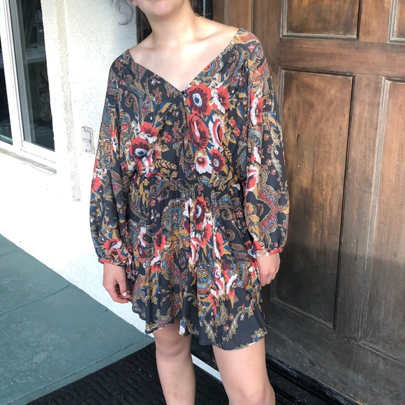 Free People Dresses & Skirts - Bohemian Free People Dress